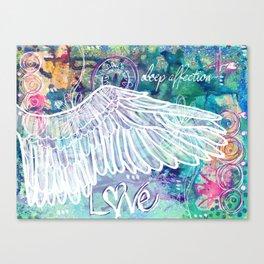 Depth of Flight Canvas Print