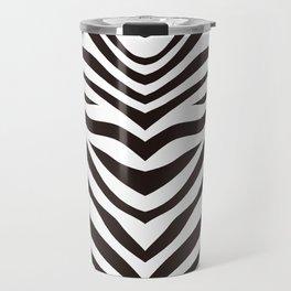 Zebra Pattern_A Travel Mug