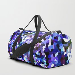Ultraviolet Mountains Moon Love Duffle Bag