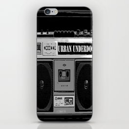 Urban Underdogs Boom Box iPhone Skin