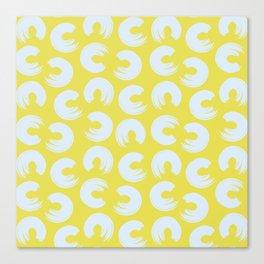 Blush Lime Canvas Print