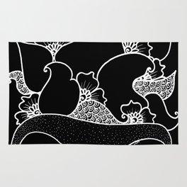 Amphora - Black White Rug