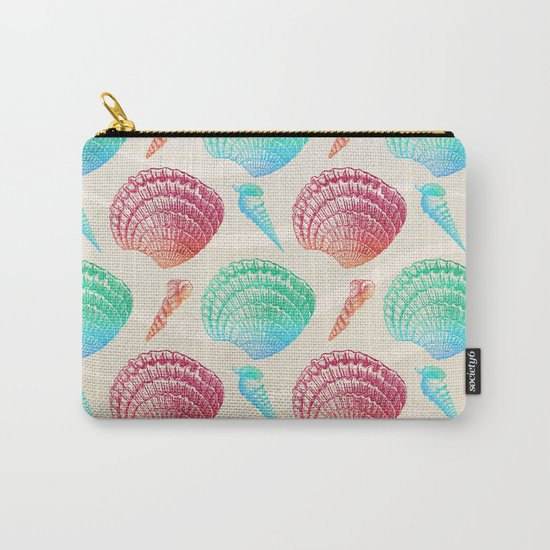 Marine Pattern 07 Carry-All Pouch