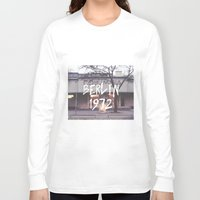 cinema Long Sleeve T-shirts featuring Cinema Columbia by MissBruce Lee