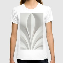 White sculpture T-shirt