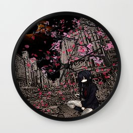 samurai sailoroutfit under neo tokyo eclipse... by rmd Wall Clock
