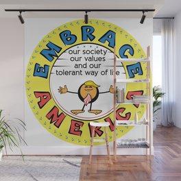 President Trump Emoticon Caricature Wall Mural