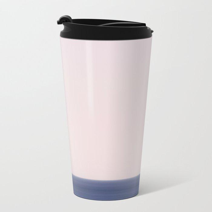 Blue Horizon Metal Travel Mug