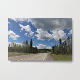 On The Road To Chama Metal Print