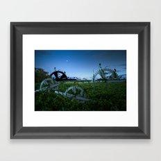 Sprockets in the Mist Framed Art Print