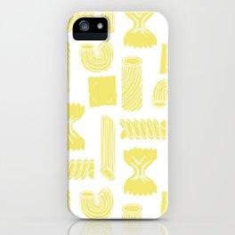 Pasta Pattern iPhone Case