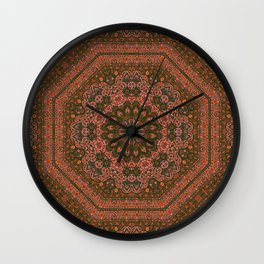 Eight Piece Persian Wall Clock
