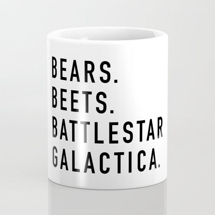 Bears Beets Battlestar Kaffeebecher