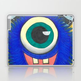 Monster and his cupcake Laptop & iPad Skin