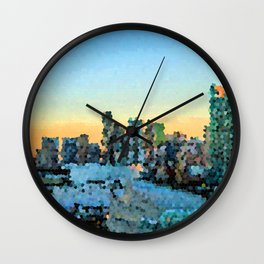 I'm Going To Miami Wall Clock