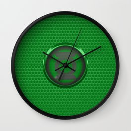 Green Lantern Wall Clock