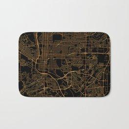 Colorado Springs map, Colorado Bath Mat
