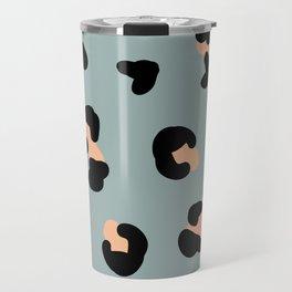 trend leopard pattern Travel Mug