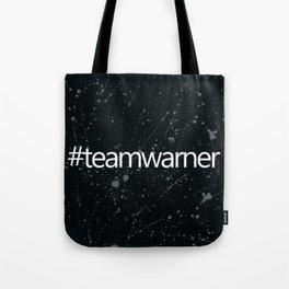 #teamwarner Tote Bag