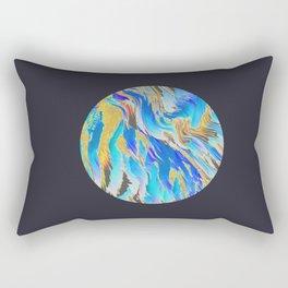 Blue Planet Rectangular Pillow