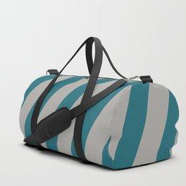 Royal Stripes (Quetzal Green) Duffle Bag