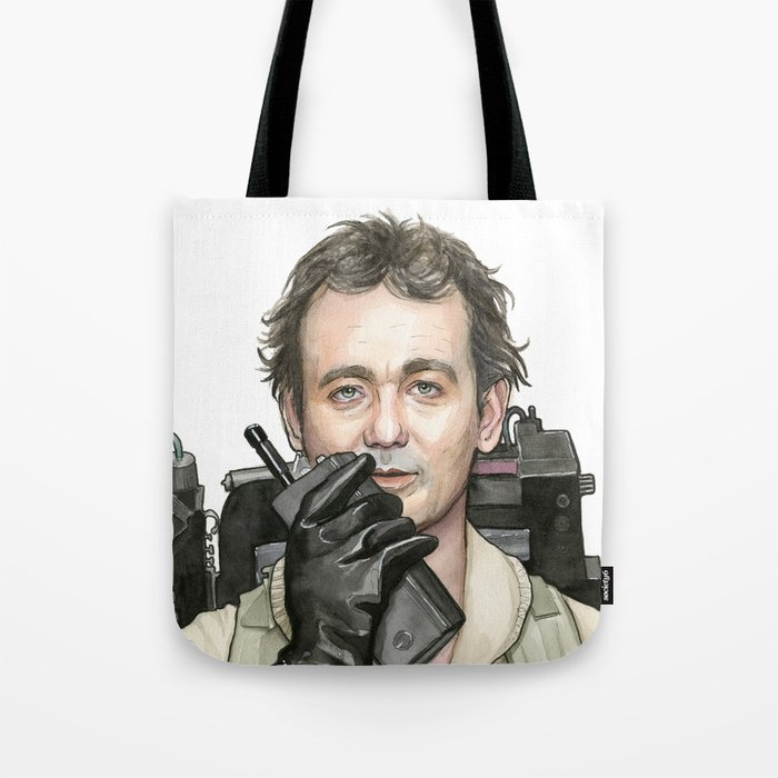 Bill Murray as Peter Venkman from Ghostbusters Tote Bag