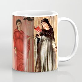 "Edward Burne-Jones ""The seasons"" Coffee Mug"