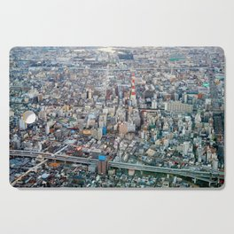 The Osaka Concrete Jungle Cutting Board