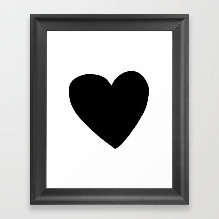 Love You Gerahmter Kunstdruck