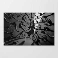 The Walls Close In Canvas Print