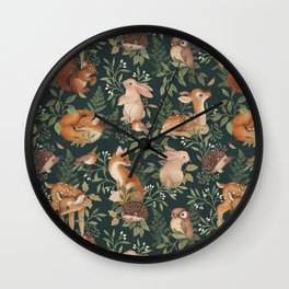 Nightfall Wonders Wall Clock