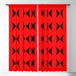 black butterflies Blackout Curtain