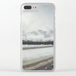 Bear Lake Colorado Clear iPhone Case