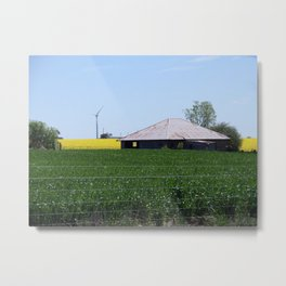 Waubra Wind Farm Metal Print