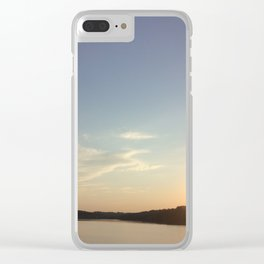 Sunny Paradise Clear iPhone Case
