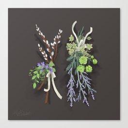 bouquets Canvas Print