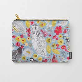 Winter Birds Carry-All Pouch