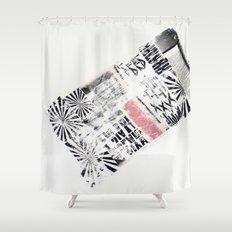 RETRO 6 Shower Curtain