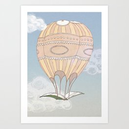 Dans l'air Art Print