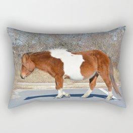 Assateague Wild Pony Rectangular Pillow