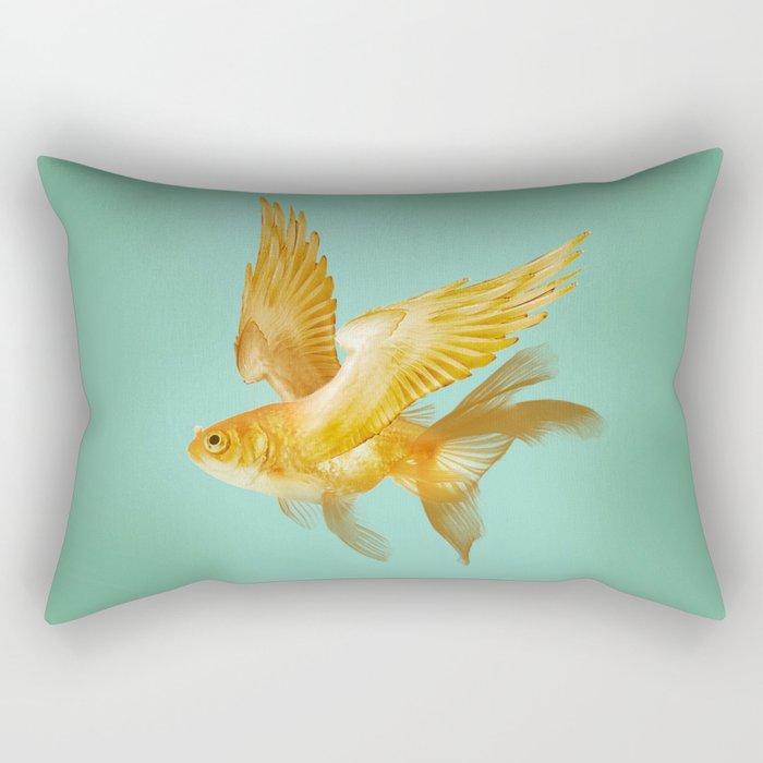 Flying Fish Rectangular Pillow