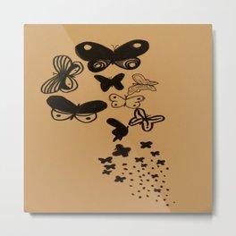 Papillon Papillon Metal Print