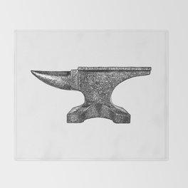 Anvil Throw Blanket