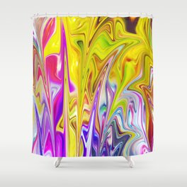 Abstract 71 Shower Curtain