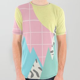 Memphis Mountains All Over Graphic Tee