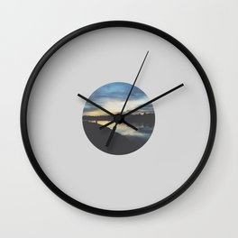 Ember Sky Wall Clock