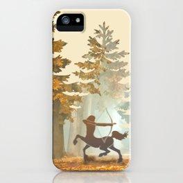 Mystic Hunt iPhone Case