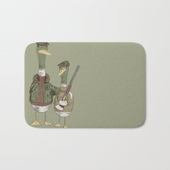 Hunting Ducks Bath Mat