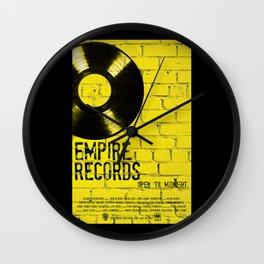 Empire Records Wall Clock