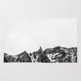 Minimalist Mountain Rug